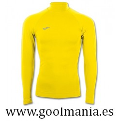 CAMISETA BRAMA M/LARGA COLOR AMARILLO