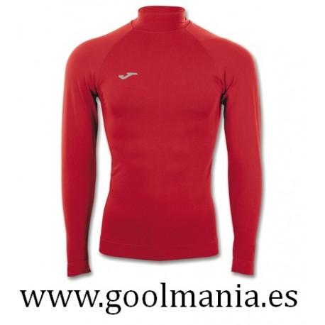 Camiseta térmica Brama Classic Rojo Cuello m/l
