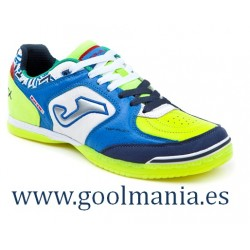 TOP FLEX 836 ROYAL-BLANCO-FLUOR INDOOR